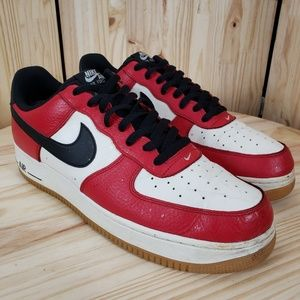 NIKE Mens Air Force 1 Low Basketball Shoes :753